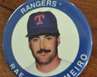 Texas Rangers Rafael Palmeiro button