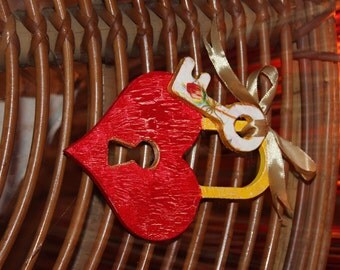 "Decoration ""Key of my heart"""