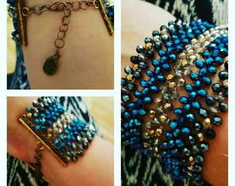 Bracelet Tribalfusion Starry night