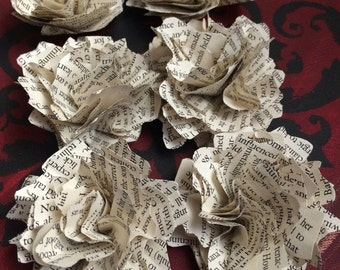 "3"" Book Paper Flower"