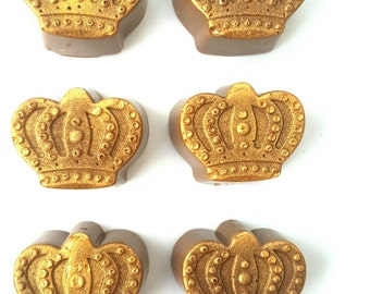 Gold Chocolate Crowns