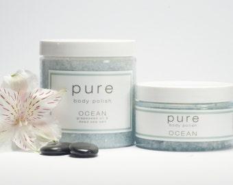 PURE Ocean Body Polish | Sea Salt Body Scrub Collection