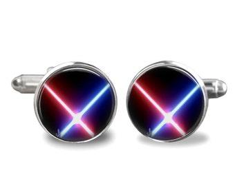 Lightsaber Cufflinks Star Wars Cufflinks PM-186