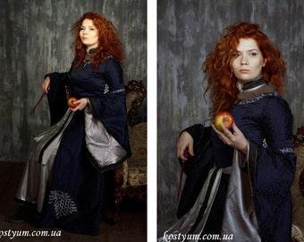 Game of Thrones Dress Starks Family Costume LARP