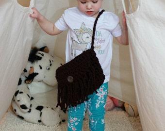 Crochet Fringe Purse