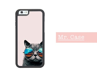Cat Mountains iPhone Case, Cute Cat iPhone Case, Cat lover iPhone Case, iPhone 6 case, iPhone 6s case, iPhone 5 case, iPhone 5s case