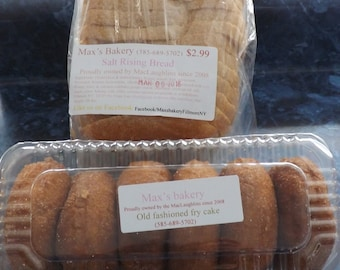 Salt Rising Bread And Donuts