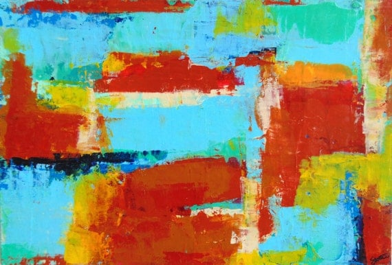 Atlanta abstract art abstract painting digital by for Atlanta mural artist