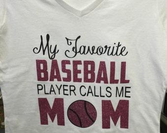 Custom made baseball Tshirt