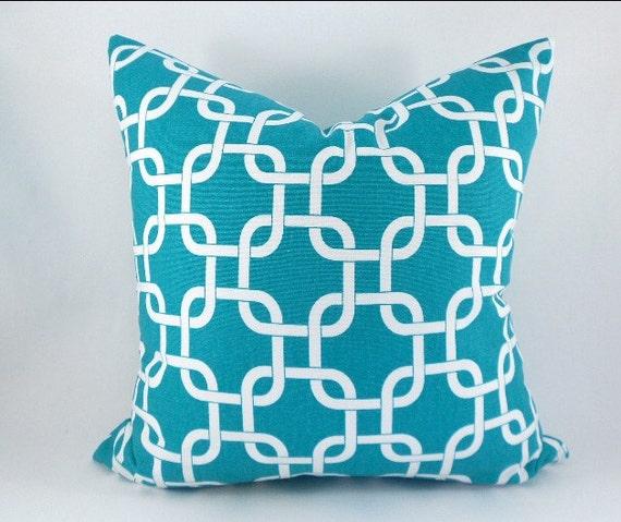 Nursery Decor Bright Blue Throw Pillows Couch Pillows Blue
