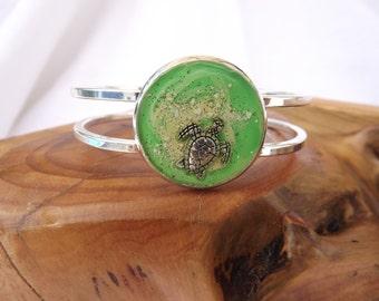 Sea Turtle Cuff Bracelet