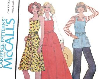 1970s Vintage Sewing Pattern - McCalls Pattern - Butcher Wrap Apron