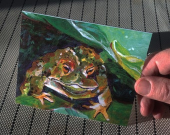 Frog Greeting Card | Creatures Great and Small | Always appropriate