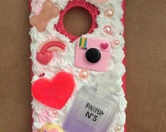 Cute cream iPhone 6s case