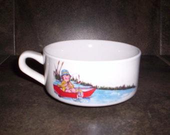 Vintage Soup Cup