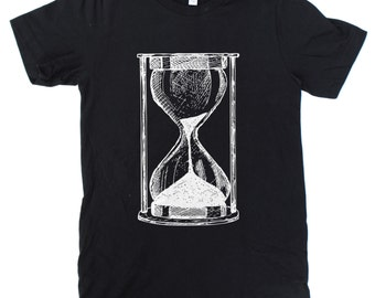 Hourglass T-Shirt UNISEX  -  S M L XL  -  Available in four shirt colors