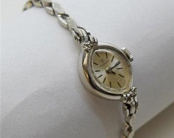 14K White Gold Tissot Lady Wrist Watch