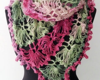 Hand Knitted Small Shawl