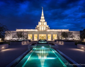 Phoenix Arizona LDS Temple Pictures - Personalized Temple Art