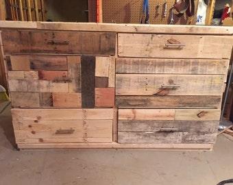 "Rustic Pallet Dresser ""The Coachman"""