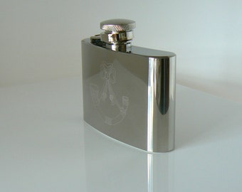 Light Infantry flask stainless steel Hip Flask