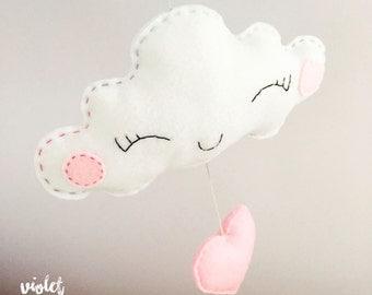 Bella Falling in Love Cloud / Cloud Mobile Nursery Decoration