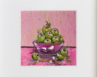 Master Art Print - Green Apples