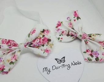 Matching baby headband and mum/sibling hair clip