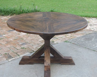 Round Dining Table for Four