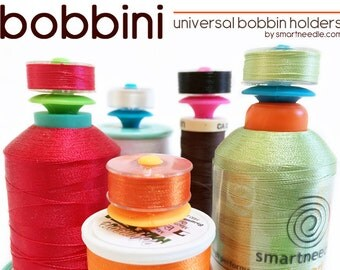 Bobbini - Set of 12 Bobbinis from Smartneedle - Bobbin Storage