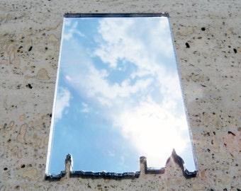 Laser cut acrylic compact mirror,Florence Italy,purse mirror,makeup mirror,Florence skyline,wallet mirror,modern mirror,pocket mirror