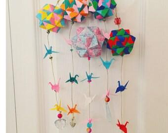 Origami Mobile (Sonobe)