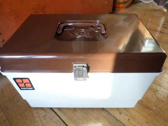 Vintage retro sewing box / naaidoos / boîte de couture / boîte à couture / nähkasten / Curver Dutch design original 1970s from Epposstuff on Etsy Studio & Vintage retro sewing box / naaidoos / boîte de couture / boîte à ... Aboutintivar.Com