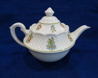 Royal Cauldon June Garden Teapot