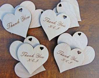 100+10 Engraved Wooden Heart, Guestbook, Wedding Gift, Gift Tag, Wedding Decoration, Birthday Party, Birstday Gift, Christmas Gift,