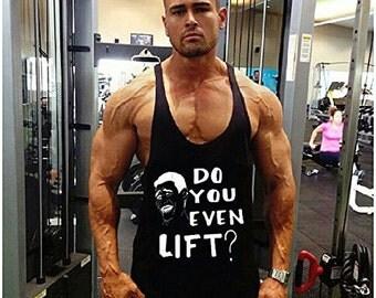 Do You Even Lift? Singlet, Muscle Tank Top, Stringer, Vest, Bodybuilding, Y-Back
