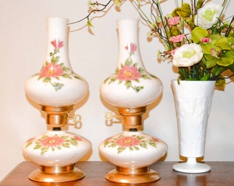 Vintage Victorian Table Lamps