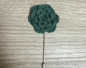 Crocheted lapel flowers / lapel flowers