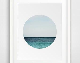 Ocean Print, Sea Photography, Ocean Decor, Sea Print, Ocean Art, Photography Print, Nature Photography, Nature Prints, Art Print, Blue Ocean