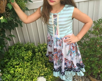 Boutique Girls Outfit, Baby Outfit, Girls Dress, Girls Outfit, Girls Clothing