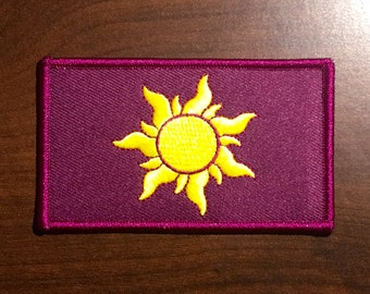 Tangled Sun Flag patch.