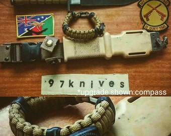 Wanderer Bracelet survival paracord survival kit