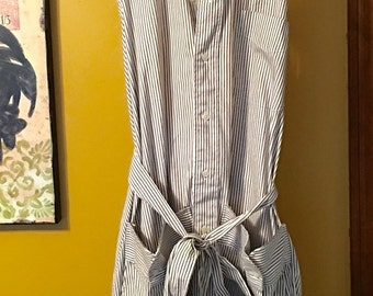 Handmade Dress Shirt Apron