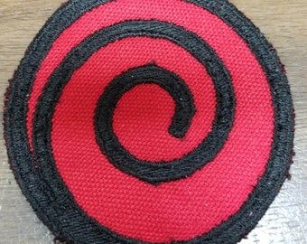 BELIEVE IT Naruto Uchiha Clan Inspired Sew on Patches