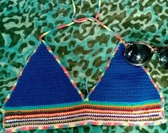 Crochet Bikini Top - Cassie