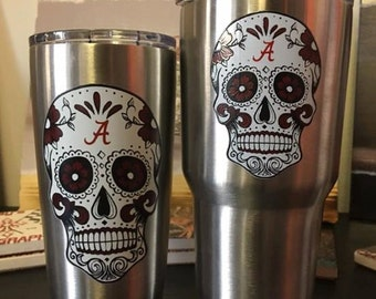 Alabama Sugar Skull Cup