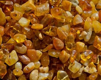 20 Baltic amber beads