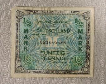 Eine Mark 1944 Paper Money