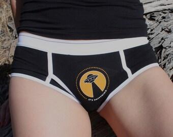 It's Happening - Boyfriend briefs underwear - Boy shorts-  UFO Woman's Underwear
