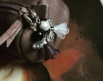Pearl fairy charm